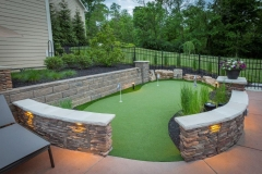 Backyard Putting Green One